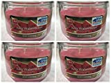 Mainstays 11.5oz Scented Candle, Juicy Watermelon 4-pack