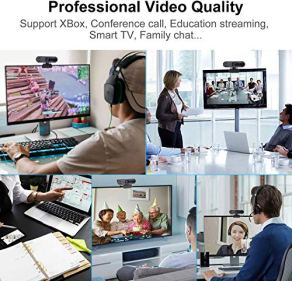 1080P-HD-Webcam-with-Privacy-CoverAuto-Focus-Webcam-with-Noise-Reduction-Microphone-Streaming-Camera-for-Video-Conferencing-Online-Work-Home-OfficeYouTube-RecordingSuit-for-Microsoft-Teams