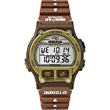 Timex Ironman Triathlon   Original 8-Lap Timer Brown Resin   Sport Watch T5K842