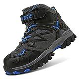 Boots Kids Hiking Shoes Boys Girls Winter Snow Sneaker Outdoor Walking Climbing Antiskid Steel Buckle Sole Waterproof