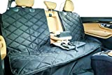 Plush Paws Products New Custom Seat Cover- XL Black for Full Size Pickups