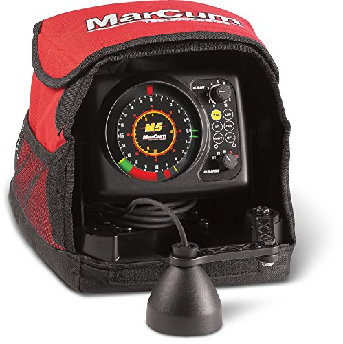 MarCum Flasher System M5 Flasher System, Black/Red