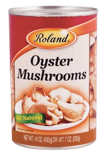 Roland Mushrooms, Oyster, 14 Ounce (Pack of 24)