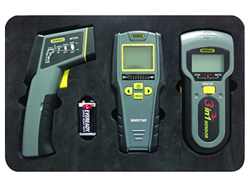 General Tools KT100 Restoration Kit with IRT, Moisture Meter and Stud, Metal and Voltage Detector