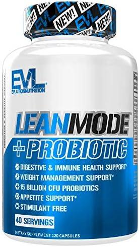 Evlution Nutrition Leanmode + Probiotic, Advanced Probiotic Capsule Supplement, 15 Billion CFUs per Serving, Digestive Support & Gut Health (40 Servings) 3