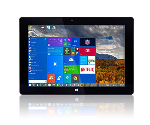 "10"" Windows 10 by Fusion5 Ultra Slim Design Windows Tablet PC – 32GB  Storage, 2GB RAM – Complete with Touch Screen, Dual Camera, Bluetooth"