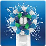 Oral-B Cross Action Electric Toothbrush Replacement Brush Heads Refill, 4 Count