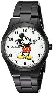 Ingersoll Men's 'Disney Classic Time' Quartz Metal and Alloy Watch, Color:Black (Model: IND 26438)