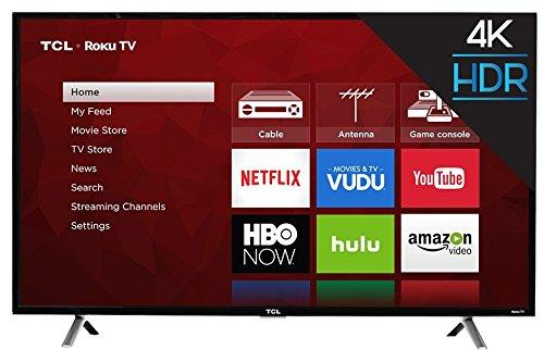 TCL 49S405 49-Inch 4K UHD Smart LED Roku TV (Certified Refurbished)