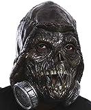 Rubie's Men's Arkham Knight Scarecrow 3/4 Vinyl Mask, Black, One Size