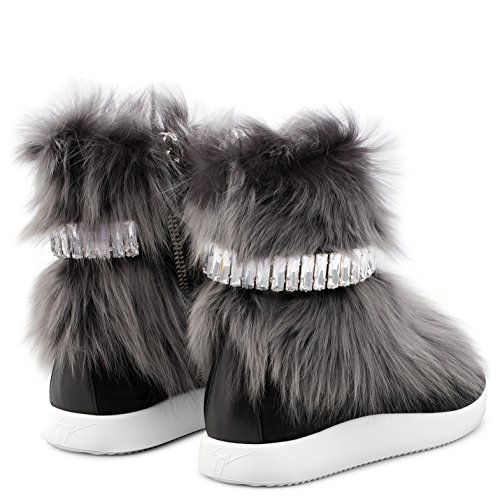 51vWyvpGJoL ANKLE BOOTS GIUSEPPE ZANOTTI DESIGN, LEATHER 100%, color GREY/BLACK, Rubber sole, Sole 20mm, FW17, product code RW70071001 If you buy 9 US size shoes, you may receive shoes with 8 UK or 42 EU size printed on the box and on the shoes. SIZE CHART MAN: (US6 EU39 UK5) (US6.5 EU39.5 UK5.5) (US7 EU40 UK6) (US7.5 EU40.5 UK6.5) (US8 EU41 UK7) (US8.5 EU41.5 UK7.5) (US9 EU42 UK8) (US9.5 EU41.5 UK8.5) (US10 EU43 UK9) (US10.5 EU43.5 UK9.5) (US11 EU44 UK10) (US11.5 EU44.5 UK10.5) (US12 EU45 UK11) (US12.5 EU45.5 UK11.5) (US13 EU46 UK12) (US13.5 EU46.5 UK12.5) (US14 EU47 UK13) (US14.5 EU47.5 UK13.5) (US15 EU48 UK14) FW17