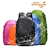 Frelaxy Waterproof Backpack Rain Cover for (15-90L), Upgraded Design & Silver Coated, for Hiking, Camping, Traveling, Outdoor Activities (Fuchsia, S)