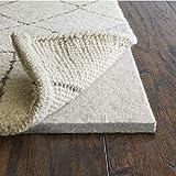 Rug Pad USA, 1/2' Thickness,  8'x10', Eco Plush Felt Rug Pads- Preserve Rug, Protect Floor