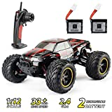 Theefun RC Car 33+ mph High Speed Remote Control Car 1: 12 Electric Vehicle Off Road Monster Truck with Rechargeable Battery for Adults Kids