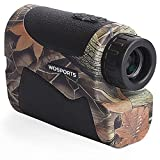 Wosports Hunting Range Finder, 650 Yards Archery...