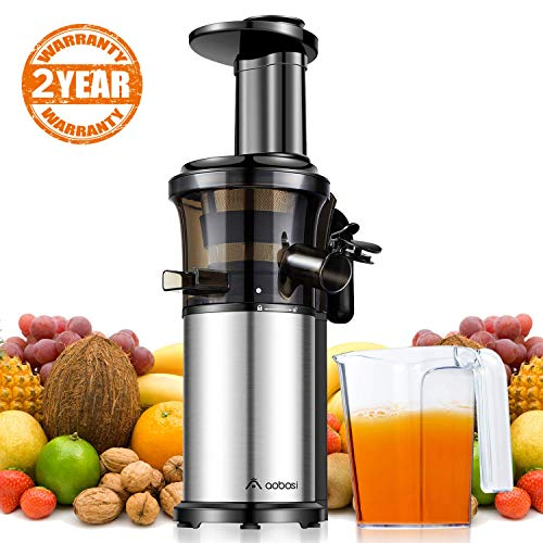 Aobosi Slow Masticating Juicer Extractor Compact Cold Press...