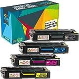 Do it Wiser Compatible Toner for Ricoh SP C250DN Ricoh SP C250SF | 407539 407540 407541 407542 (4 Pack)
