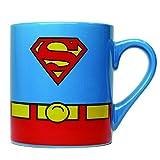 Silver Buffalo SP0132 DC Comics Superman Uniform Ceramic Mug ,14 Ounces