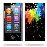 MightySkins Skin Compatible with Apple iPod Nano 7G (7th Generation) MP3 Player wrap Sticker Skins Splatter