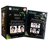 10 PCS Dexe Instant Hair Dye for Men Women- Black Hair Shampoo -Black Color - Simple to Use - Temporary Hair Dye- Last 30 days - Natural Ingredients, Great Choice for Woman&Man.