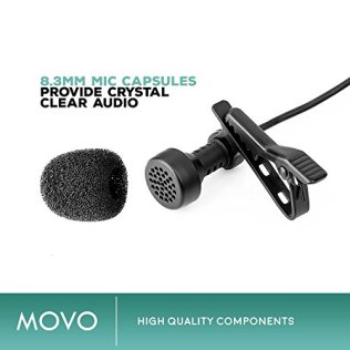 Zoom-H4n-PRO-4-Channel-Handy-Recorder-Bundle-with-Movo-Pro-Grade-Omnidirectional-and-Cardioid-XLR-Lavalier-Microphones