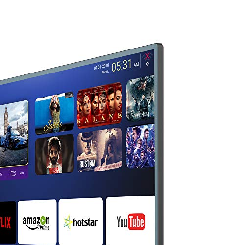 RCA 140 cm (55 inch) 4K Ultra HD Smart LED TV 55WR1904U (Silver) (2019 Model) | with Quantum Backlit Technology 4