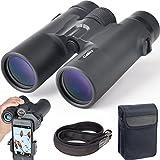Gosky 10x42 Binoculars for Adults, Compact HD Professional Binoculars for Bird...
