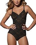 3f5e63d06a Bali Women s Shapewear Lace  N Smooth Body Briefer - 40DD - Black