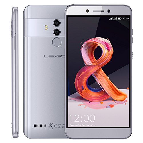 LEAGOO T8S 4GB+32GB 5.5 inch Android 8.1 MTK6750T Octa Core up to 1.5GHz GSM & WCDMA & FDD-LTE (Grey)