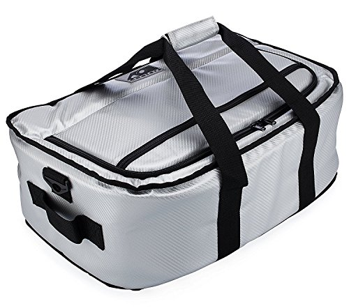 AO Coolers Stow-N-Go Cooler, Carbon Silver, 38 Pack
