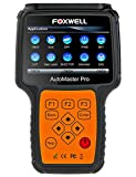 FOXWELL NT644 Pro Automotive OBD2 Scanner Full System OBD II Code Reader Car Diagnostic Scan Tool for Oil Light Reset, ABS, SRS, EPB, BRT, SAS, DPF, TBA and TPMS with Full Set OBDI Adapters Kit
