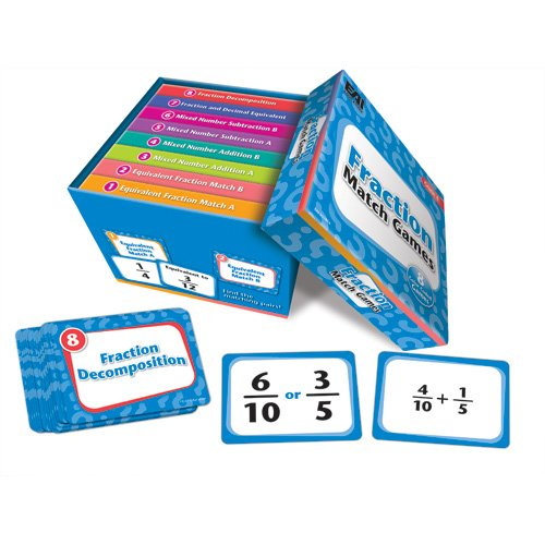 EAI Education Fraction Match Games: Grade 4