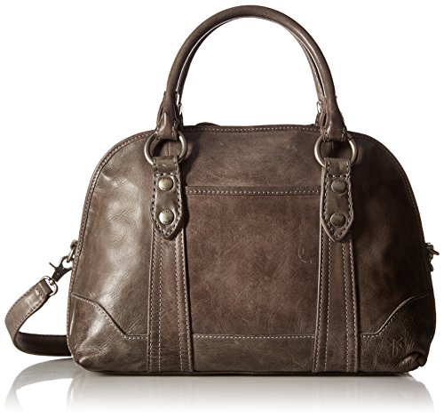51w6vXIOtKL Structured satchel featuring rolled top handles with O-ring hardware Adjustable/removable shoulder strap