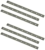 POWERTEC 13 Inch Heat Treated M2 Laminated HSS Inch Knives for DeWalt 735 Planer | Dual Sided Replacement Planer Blades DW7352- 2 Sets | 6 Blades