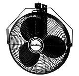 Air King 9518 18-Inch Industrial Grade Wall Mount Fan, 1/6-Horsepower