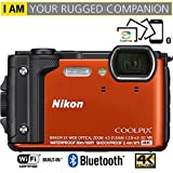 Nikon COOLPIX W300 16MP 4k Ultra HD Waterproof Digital Camera (Orange)...