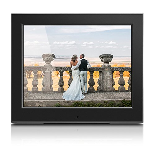 Aluratek – 8″ Slim Digital Photo Frame with Auto Slideshow 1024 x 768 Hi-Res