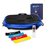 LifePro 3D Vibration Plate Exercise Machine - Dual Motor Oscillation, Pulsation + 3D Motion Vibration Platform | Full Whole Body Vibration Machine for Home Fitness, Weight Loss, Toning & Shaping.