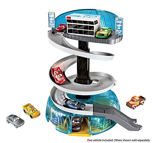 Disney Pixar Cars  Florida Speedway Spiral Playset