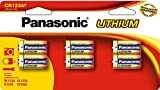 Panasonic CR-123A Lithium Camera Batteries 6 battery value pack