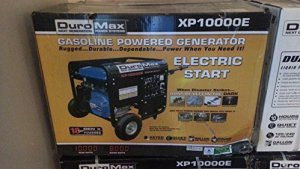 Duromax XP10000E 10,000 Watt 16 Hp OHV 4-cycle Gas Powered Portable Generator with Wheel Kit and Electric Start -FREE SHIPPING