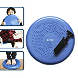 Wiggle Seat for Kids:: Inflatable Wobble Cushion/Wiggle Cushion | Perfect for Classroom & Home :: Ages 3 & Up, 13 x