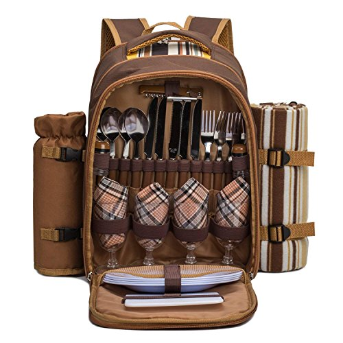 APOLLO WALKER TAWA Picnic Backpack Bag...