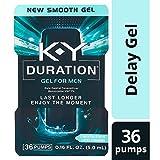 Duration Gel for Men, K-Y - Male Genital Desensitizer 0.16 oz (36 pumps), Condom Compatible Endurance Enhancing Delay Gel To Help Men Last Longer In Bed