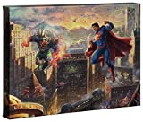Thomas Kinkade Studios Superman Man of Steel 10 x 14 Gallery Wrapped Canvas