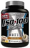 Dymatize ISO100 Hydrolyzed Protein Powder, 100% Whey Isolate Protein, 25g of Protein, 5.5g BCAAs, Gluten Free, Fast Absorbing, Easy Digesting, Cinnamon Bun, 3 Pound
