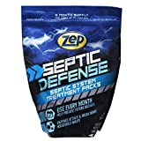 Zep ZSTP6 Septi-Pack Concentrated Septic Treatment 12 Ounces