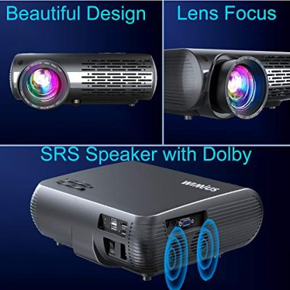 WiMiUS-Newest-P20-Native-1080P-Projector-6800-Lux-Video-Projector-Support-4K-Dolby-50Keystone-Correction-Zoom-Function-Compatible-with-PC-Laptop-Chromecast-USB-Stick-Fire-TV-Stick-Smartphones