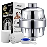 Homspal 10-Stage Shower Water Filter with 2 Cartridges - For...