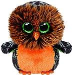 Ty Beanie Boos Plush - Halloween Midnight Owl 15cm